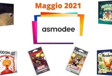 Le novità Asmodee: tutti i giochi in uscita a maggio 2021