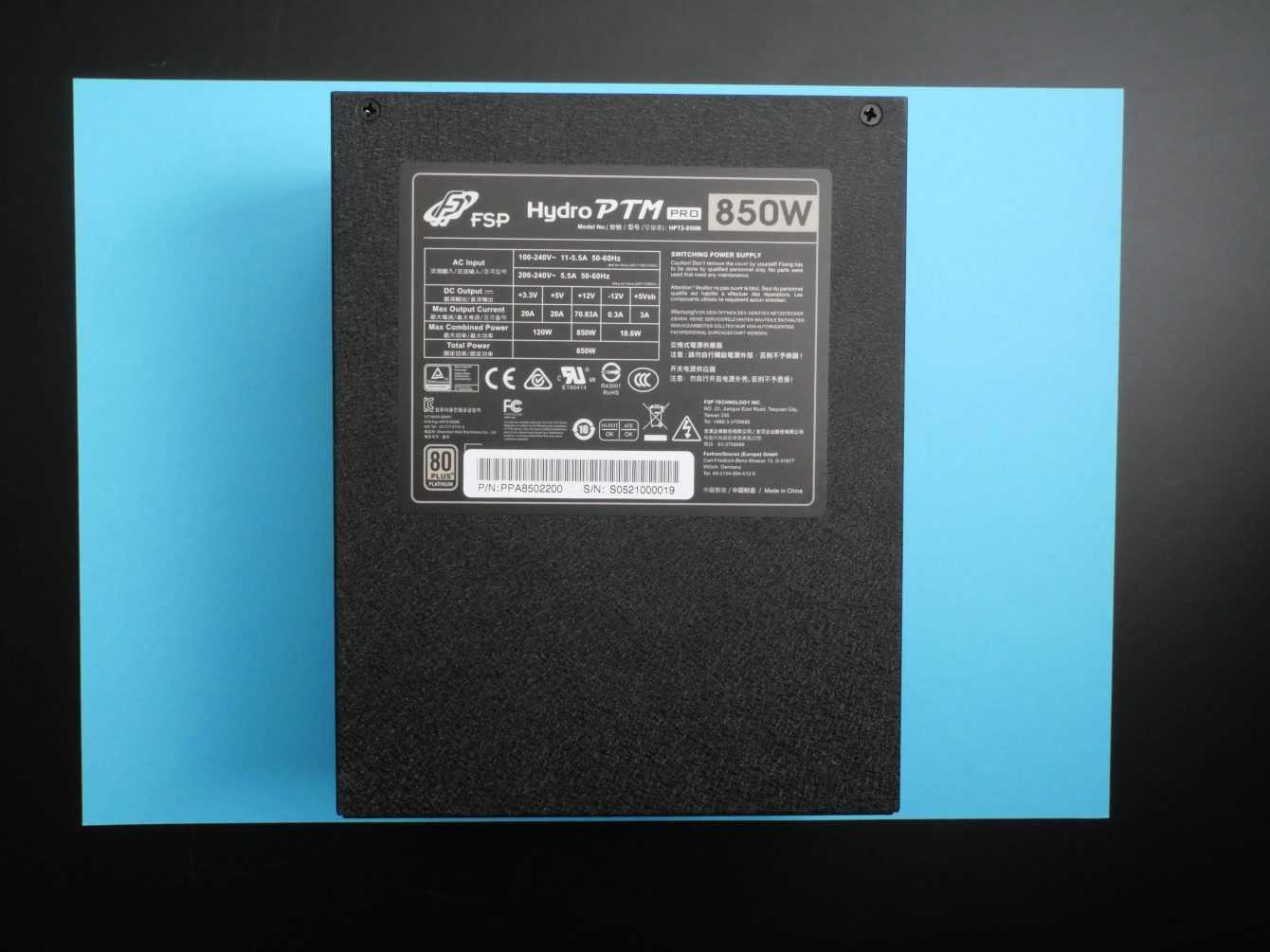 Recensione Hydro PTM PRO 850 W: l'alimentatore che non ti aspetti