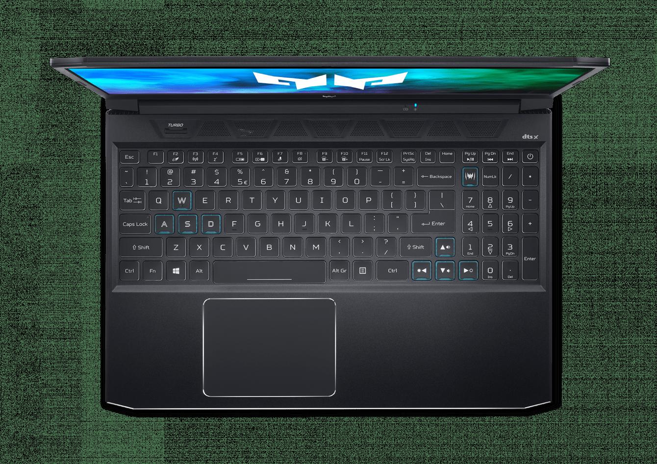 Acer Predator Triton 300, Predator Helios 300 e Acer Nitro 5: con Intel Tiger Lake-H