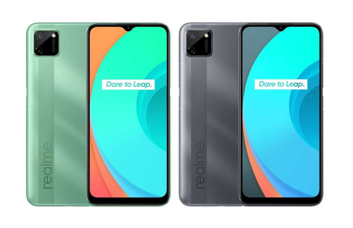 Realme C11 2021: officially unveiled new version