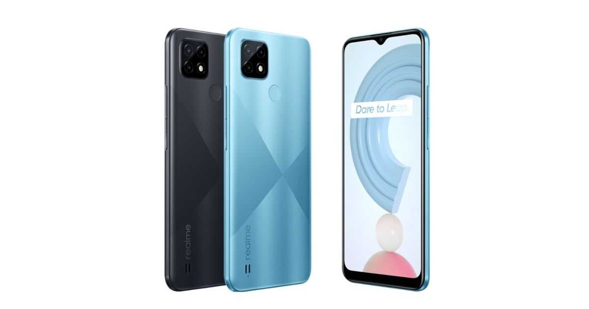 Realme C21: officially available in Italy