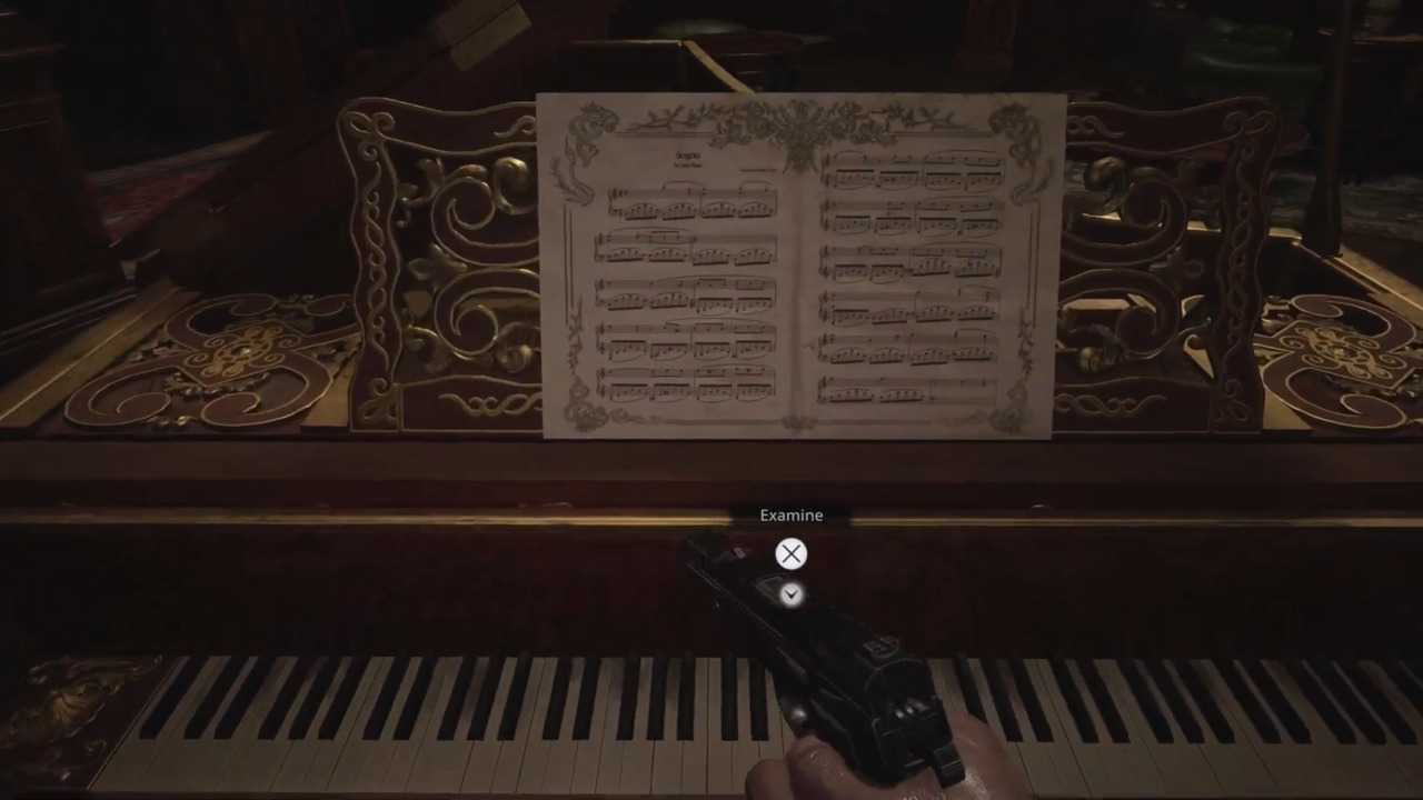 Resident Evil Village: how to solve the piano puzzle