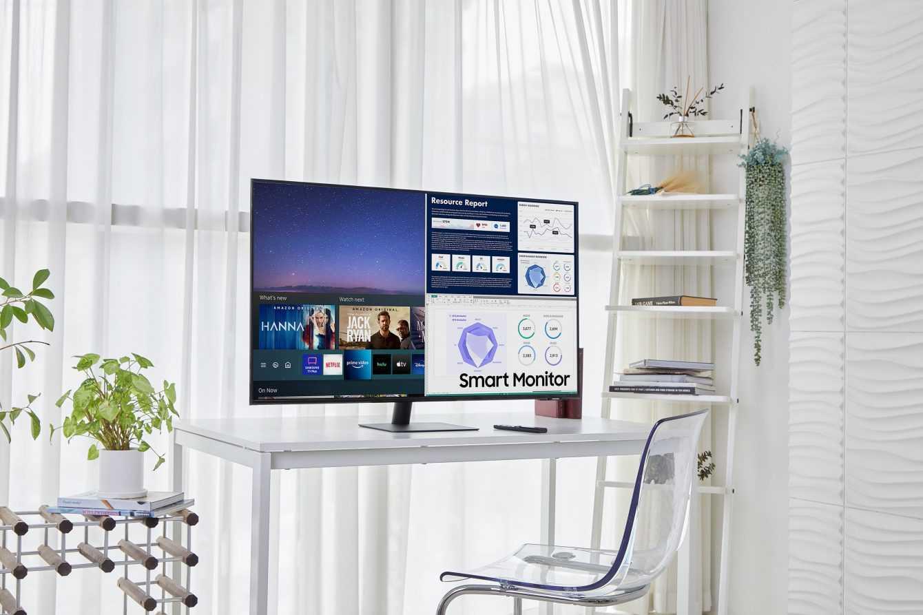 """Samsung Smart Monitor: per un'esperienza d'uso """"all-in-one"""""""