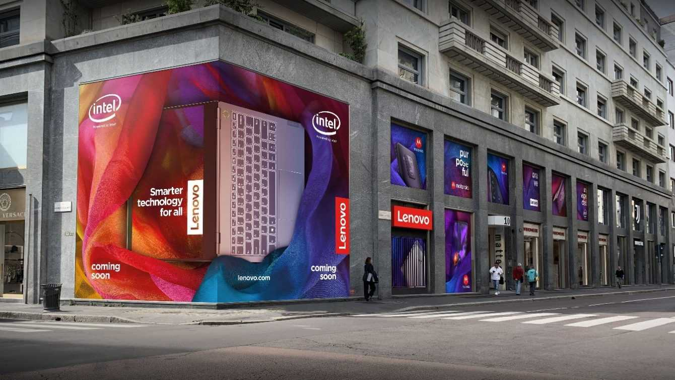 Lenovo Space: awarded with the Design Award 2020-21