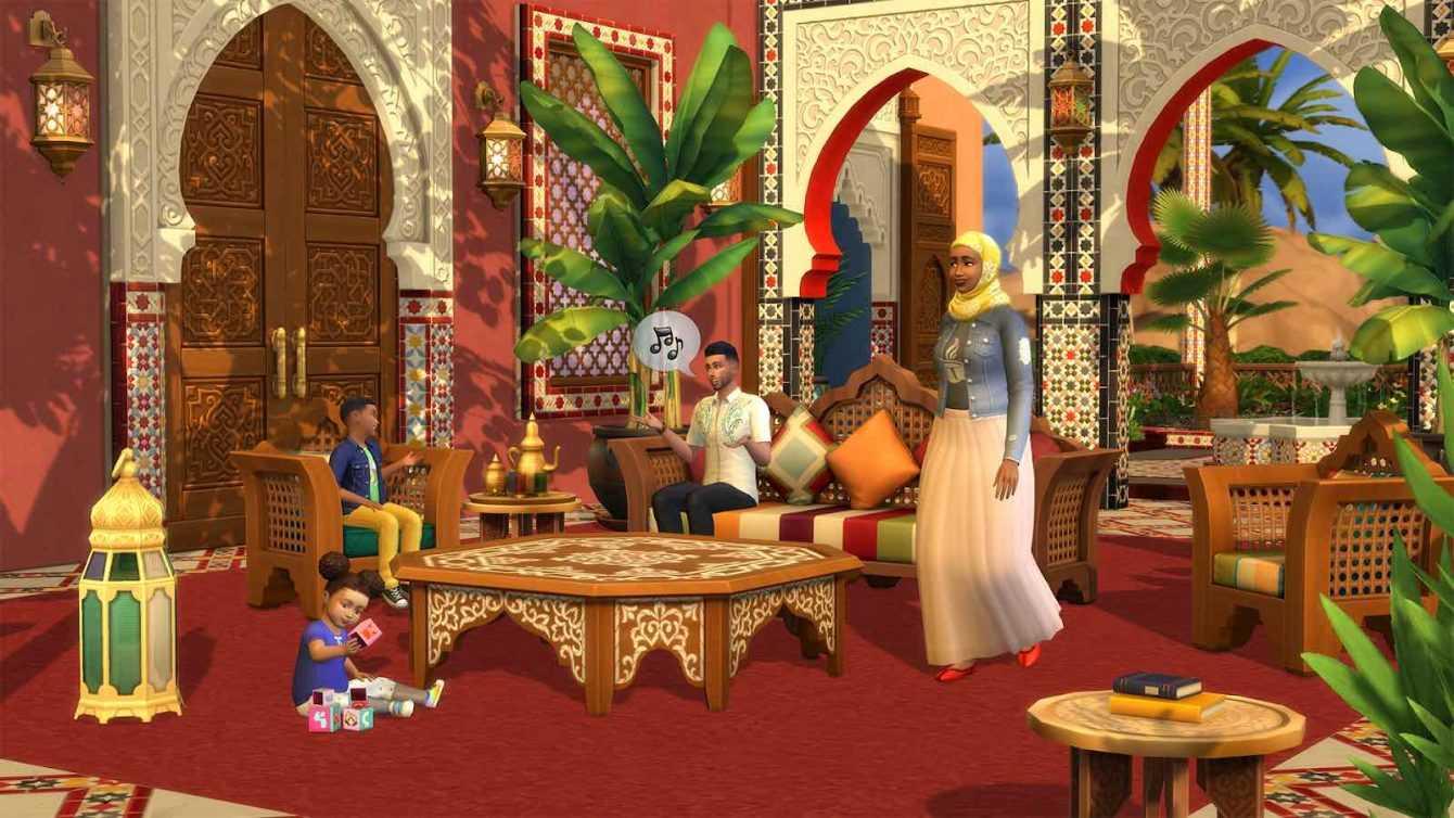 The Sims 4: confermata la data di uscita del Kit Oasi in giardino