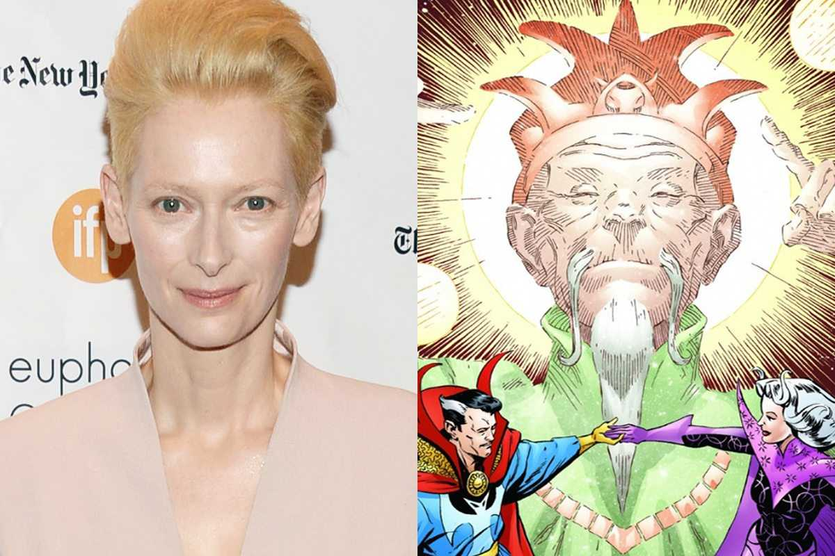 Doctor Strange: Kevin Feige regrets the choice of Tilda Swinton as the Ancient