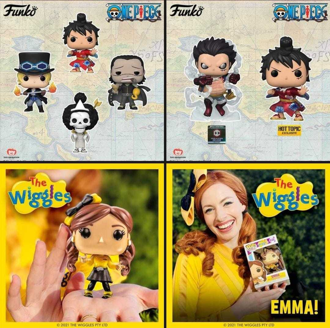 Funko Pop: present the latest releases of the One Piece series