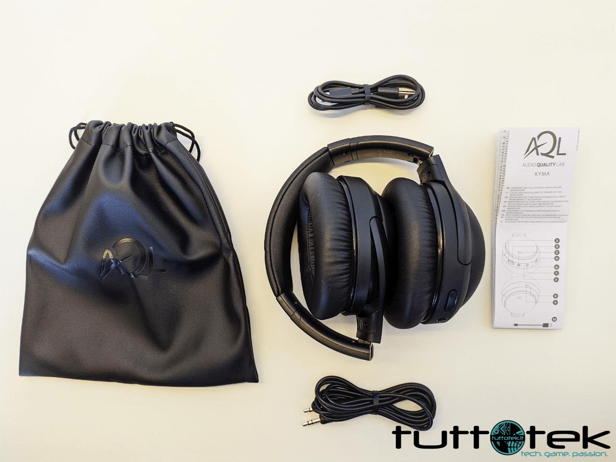 Recensione AQL Kyma: le cuffie Bluetooth da viaggio con ANC