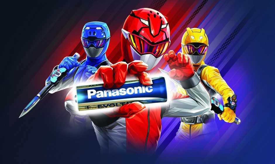 Panasonic e Power Rangers insieme per un grande evento!