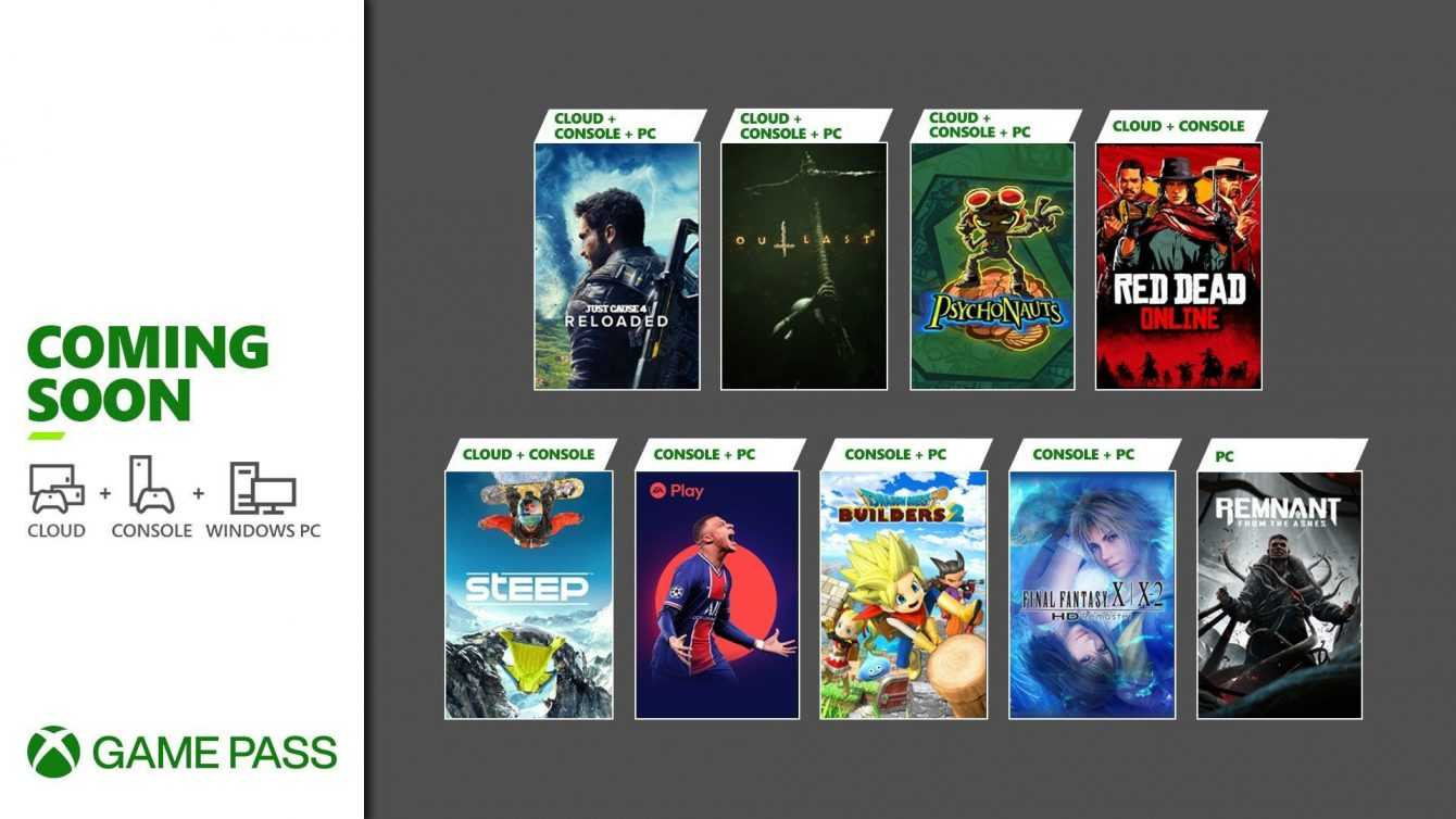 Xbox Game Pass: the games of May 2021