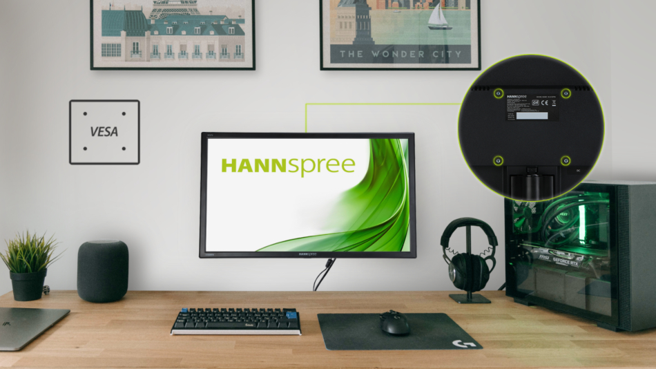 HANNspree: here is the new HC272PPB monitor