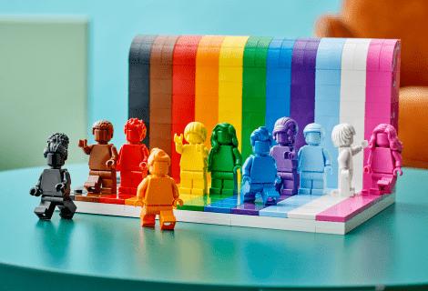 LEGO: arriva il nuovo set LGBTQIA+ per celebrare la diversità