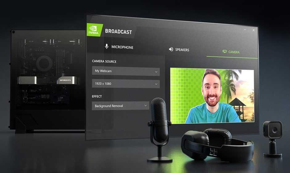 NVIDIA Broadcast 1.2: tutte le novità legate alle GeForce RTX