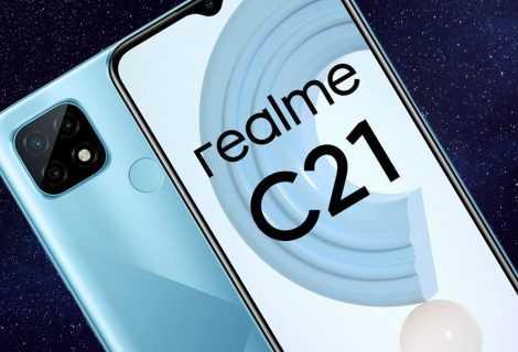 Realme C21: disponibile ufficialmente in Italia