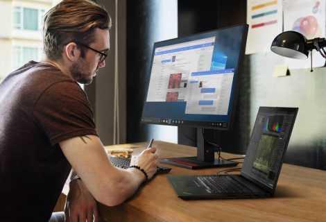 Lenovo ThinkPad e ThinkVision: produttività a 360°
