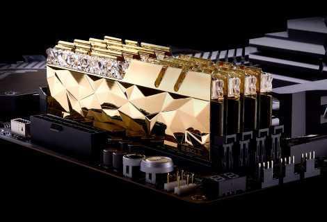 G.SKILL Trident Z Royal Elite: rilasciate le nuove RAM DDR4-4000 32GB CL14