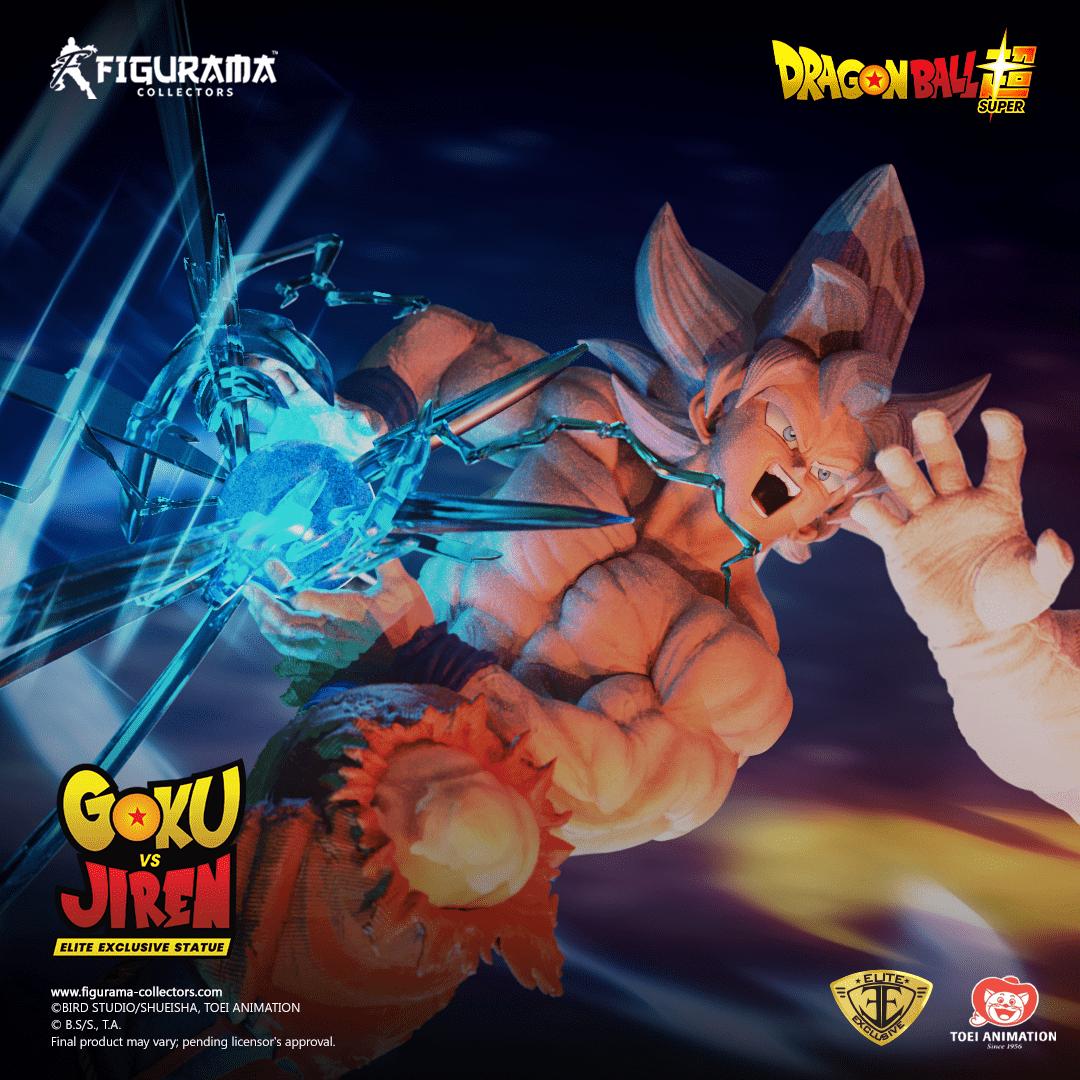 Goku VS Jiren: ecco la statua di Figurama Collectors