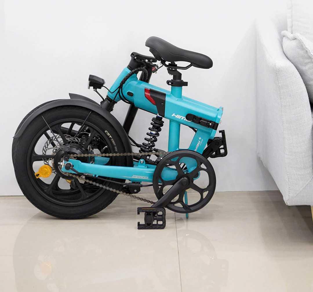 Himo Z16: la bici con pedalata assistita pieghevole in sconto