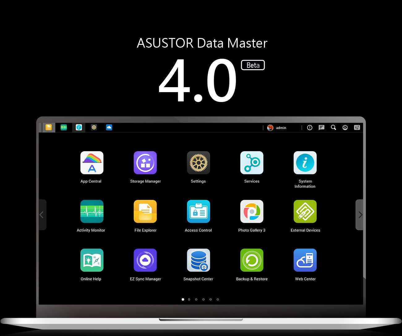 ASUSTOR: ADM 4.0 Beta announced