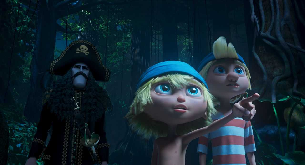 Captain Saber and the magic diamond: in cinemas from 5 August