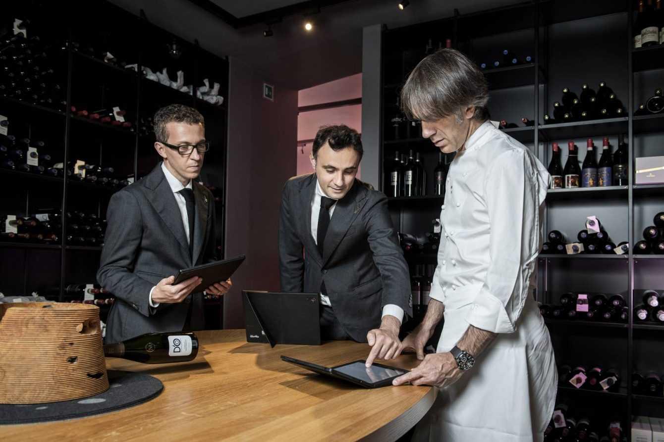Lenovo: in cucina con Davide Oldani e le tecnologie smart