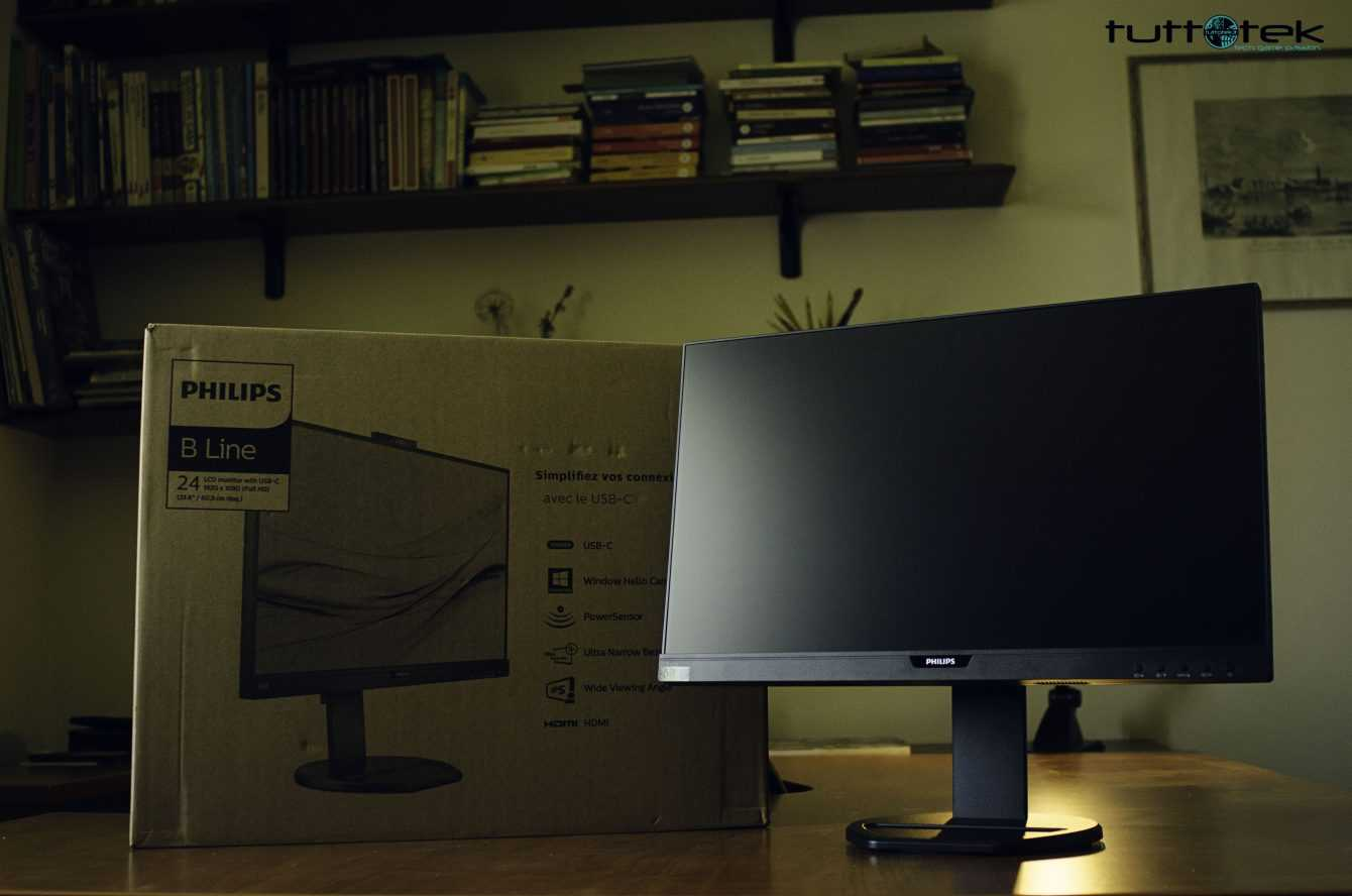 Philips B Line 243B9H review: an office monitor and much more!