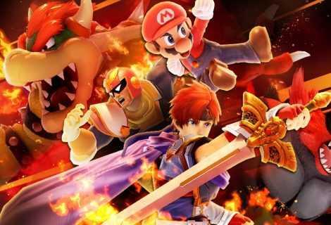 """Super Smash Bros Ultimate: torneo online """"Fuoco e fiamme"""""""