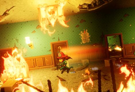 Firegirl: un platform tra fuoco e fiamme