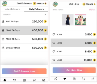 GetInsFollowers: ottenere follower e like gratis su Instagram