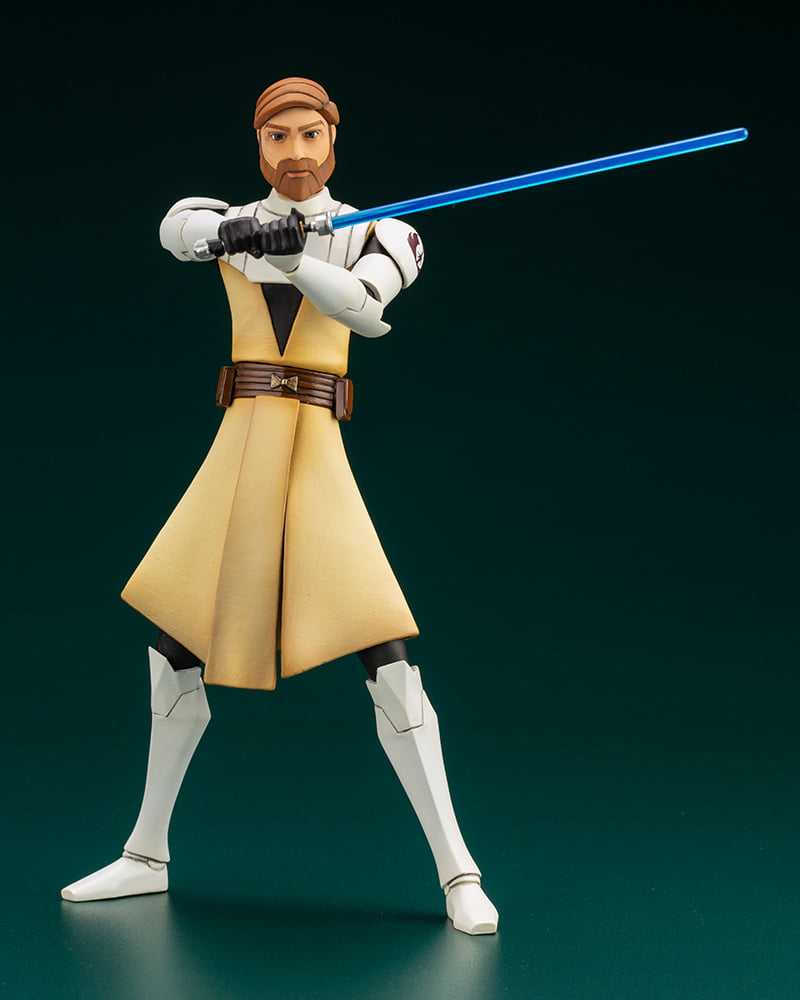 Star Wars: The Clone Wars, ecco le statue di Anakin Skywalker e Obi-Wan Kenobi