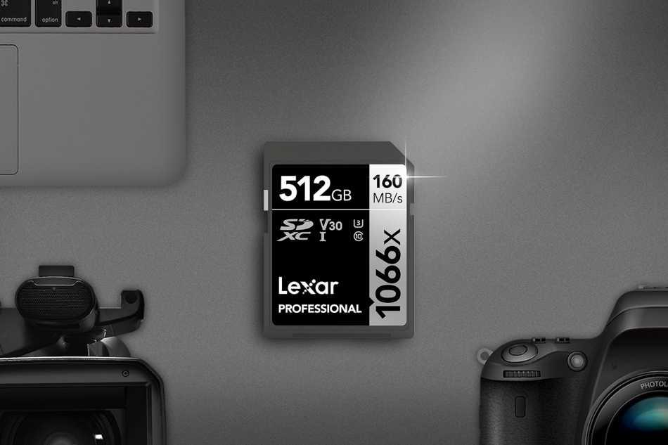 Lexar: high speed with the 1066x SDXC card