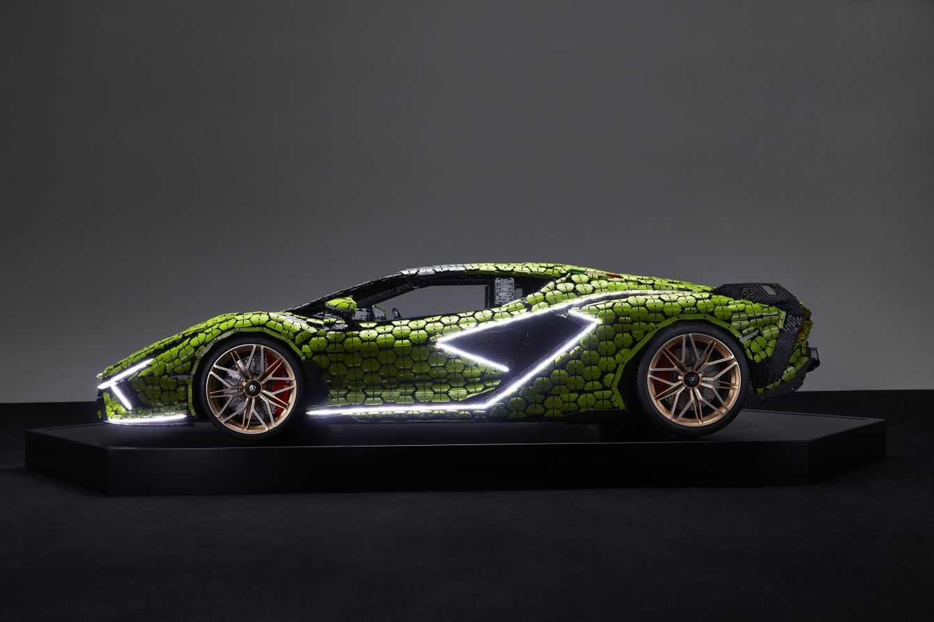 LEGO unveils full-size Lamborghini Sián FKP 37
