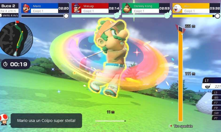 Mario Golf Super Rush: aggiunti un nuovo personaggio ed una mappa