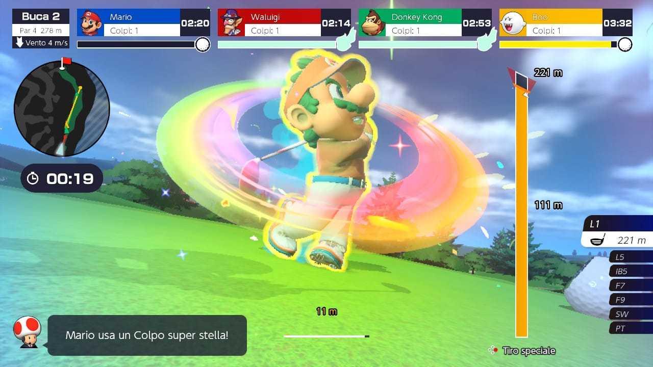 Recensione Mario Golf Super Rush: golfisti si diventa