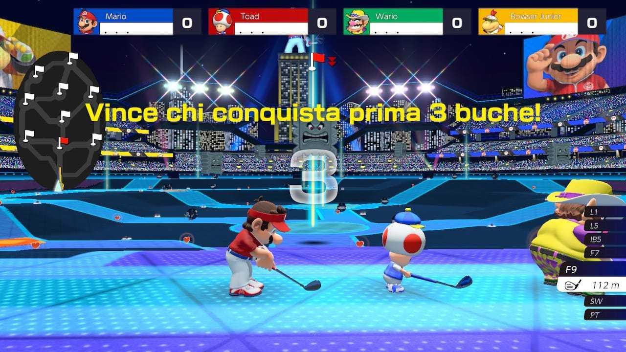 Mario Golf Super Rush: trucchi e consigli per diventare i migiori