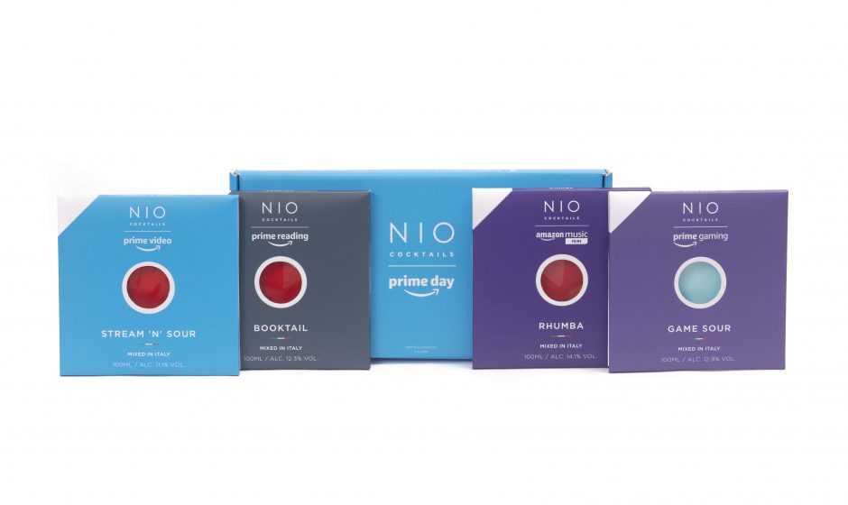 Amazon e NIO Cocktails: i drink perfetti per il Prime Day