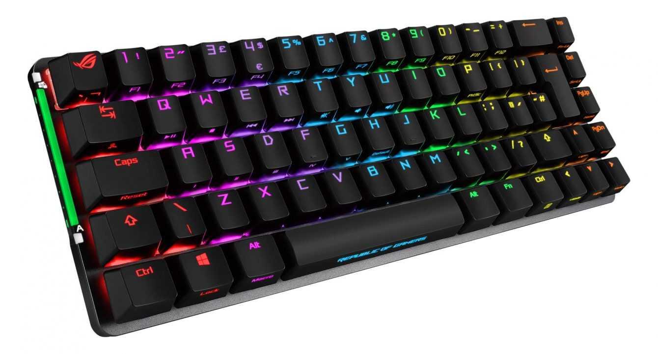 Asus ROG Falchion: una tastiera gaming con form factor 65%