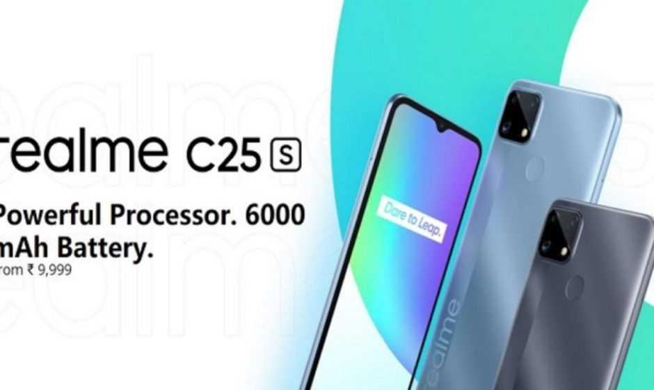 Realme C25s: annunciato ufficialmente