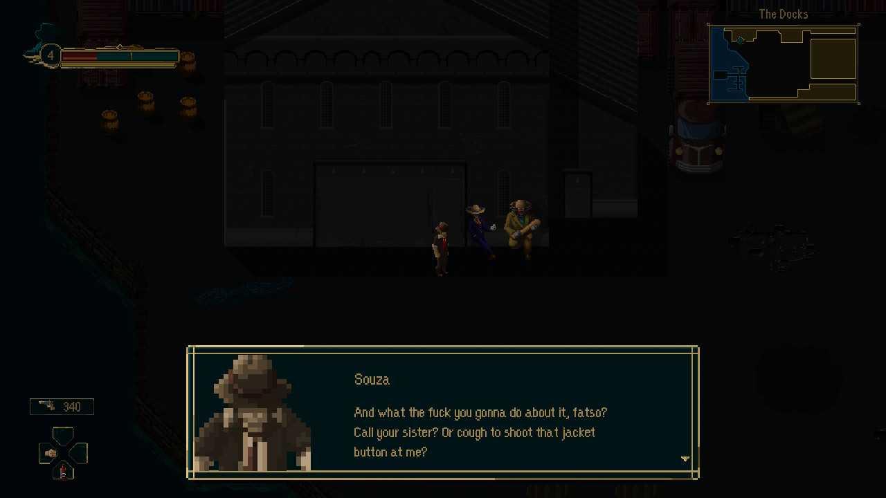 Recensione Pecaminosa - A Pixel Noir Game, che peccato!