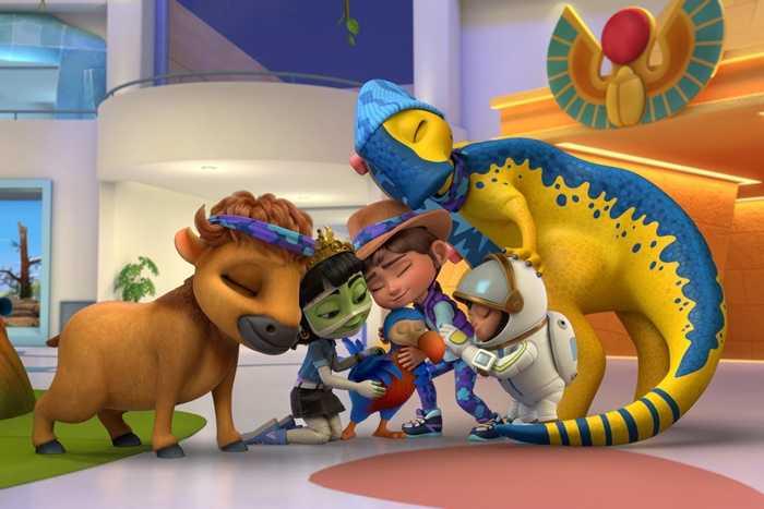 Ridley Jones: in arrivo su Netflix la nuova serie TV animata