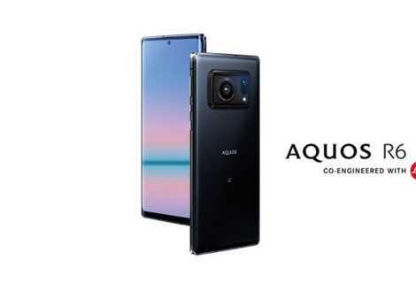 Sharp Aquos R6: il cameraphone a 240Hz