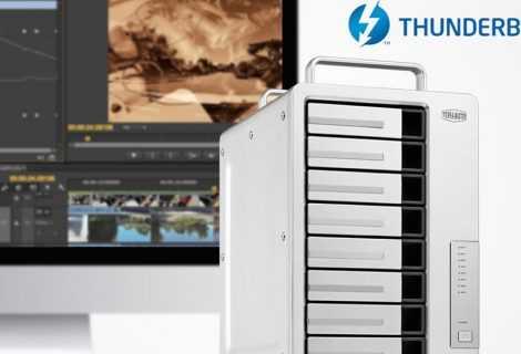 TerraMaster: ecco i nuovi sistemi RAID con Thunderbolt 3