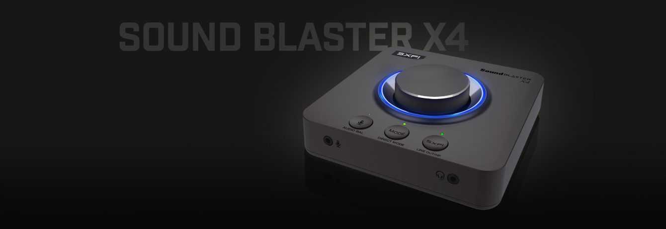 Creative Sound Blaster X4: la scheda audio versatile