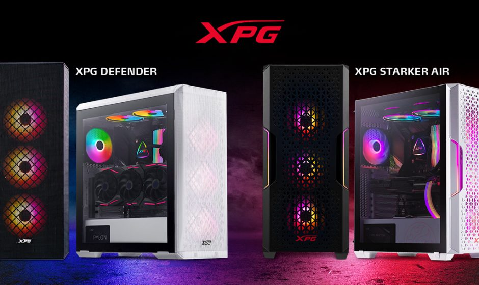 XPG STARKER AIR e XPG DEFENDER: ecco i nuovi case meshati