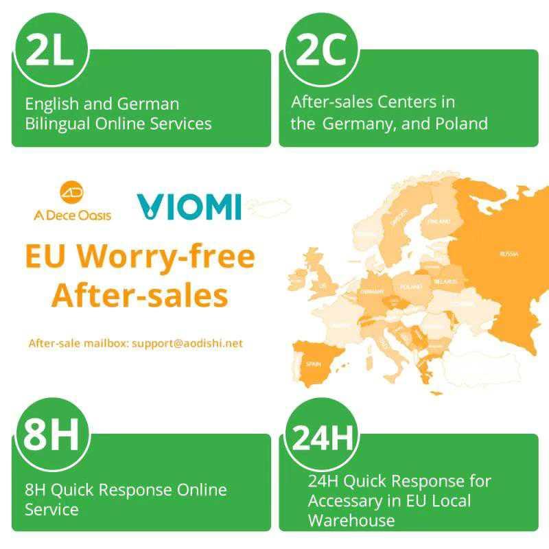 Xiaomi Viomi SE: lancio con promozione in grande stile