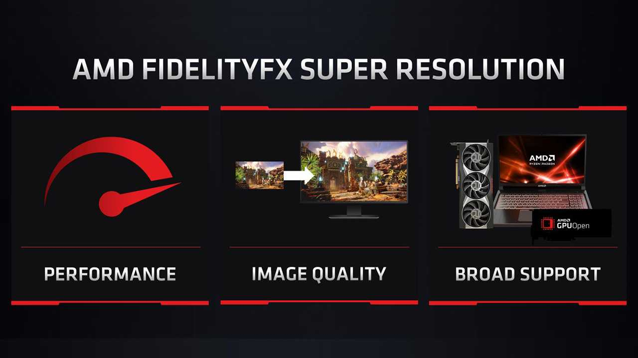 AMD FSR: the FidelityFX Super Resolution is for everyone (even NVIDIA)
