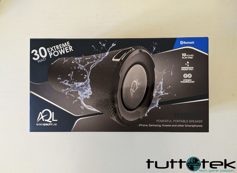 Recensione AQL Typhoon: la cassa Bluetooth top di Cellularline
