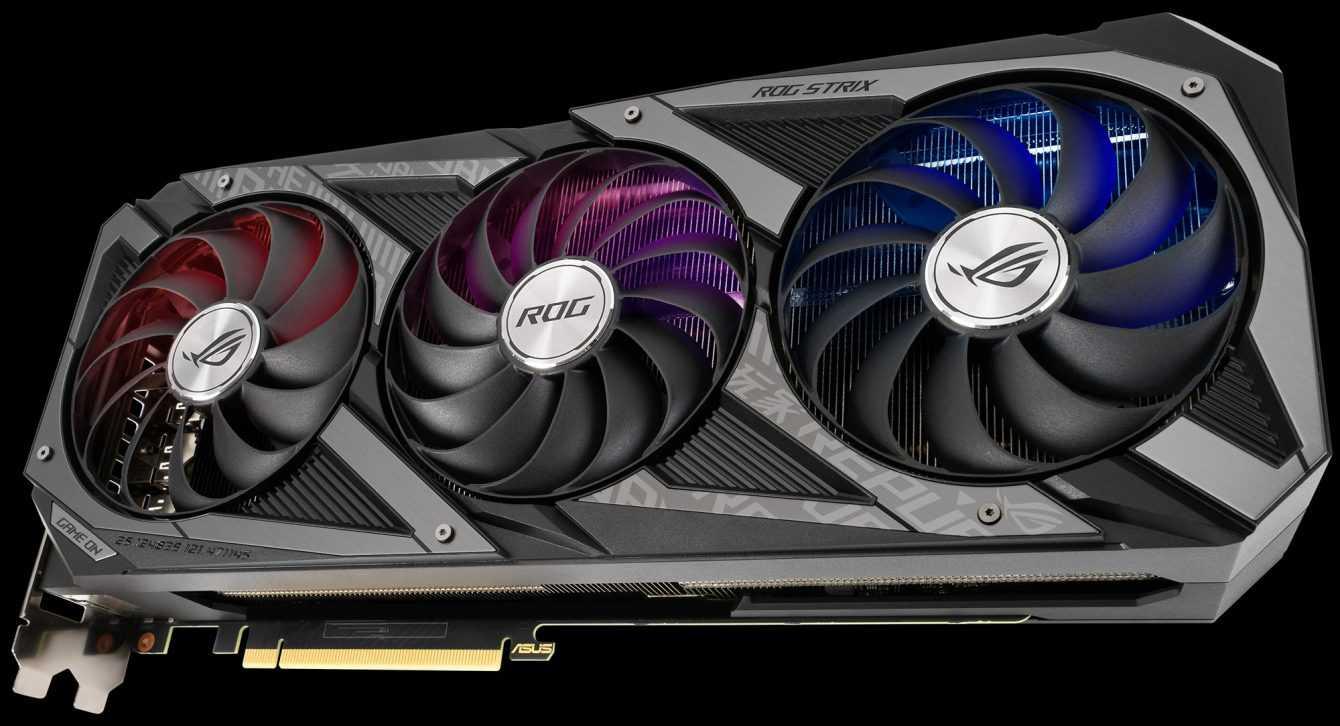 ASUS RTX 3080 Ti and RTX 3070 Ti: new custom announced
