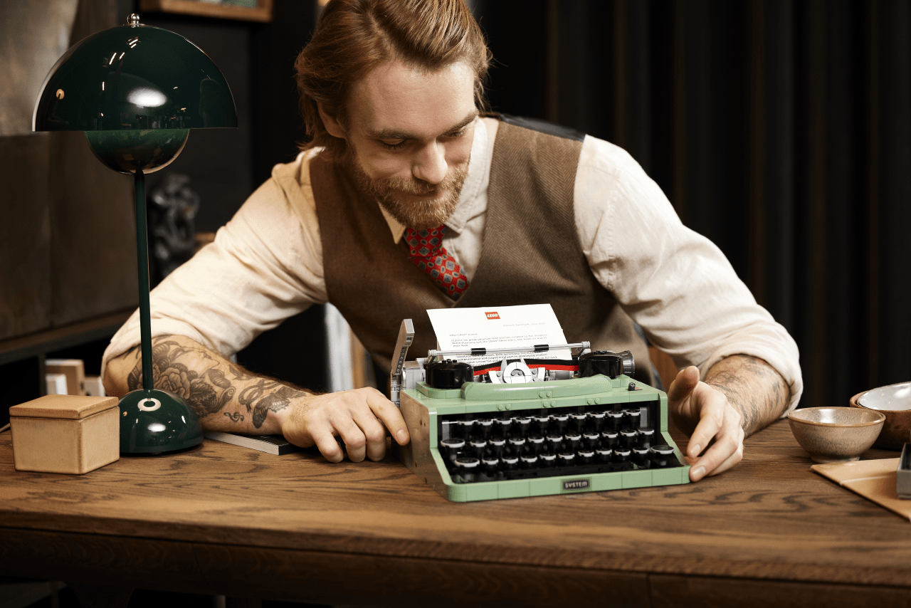 In arrivo il nuovo set LEGO Ideas Macchina da scrivere