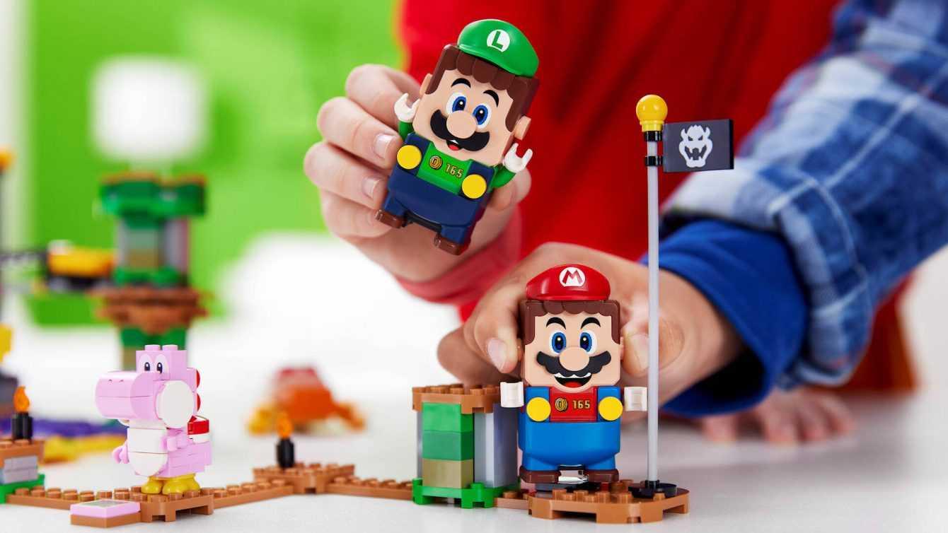 LEGO Super Mario e Luigi disponibile per il pre ordine!